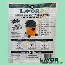 KIT FILTRO DESCARTAVEL LAVOR