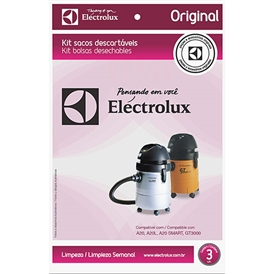 KIT FILTRO DESCARTAVEL ELECTROLUX
